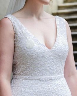 sequin plus size wedding dresses from Darius Collection