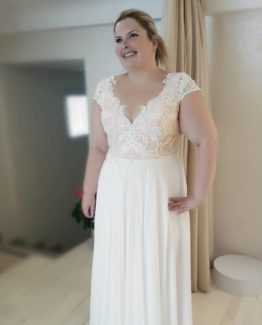 #6b7a - plus size bridal dresses with cap sleeves - 6e2d5a2cf69fab9be7f07bd3b65b.34f918838b6a6e94d5f38a4c775d34f6