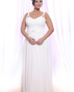Style #PS1422 - 1500 - Sleeveless Plus Size Bridal Gown with Straps